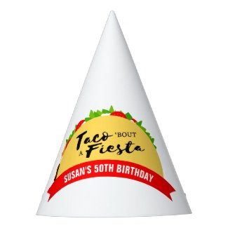 Taco 'Bout A Fiesta Party Hat