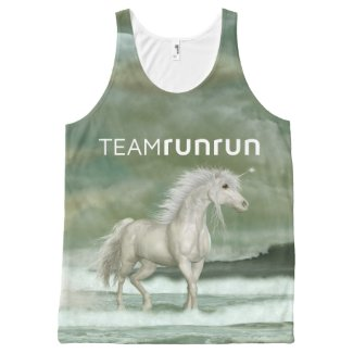 Water Unicorn All-Over Print Tank Top