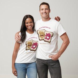 Peanut Butter and Jelly Best Friend T-Shirt