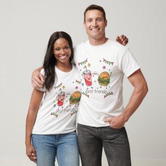 Hambuger Best Friend T-Shirt