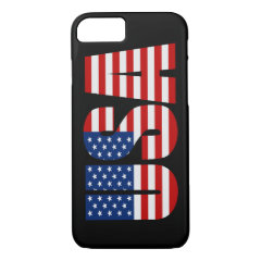 USA American Flag iPhone 7 case