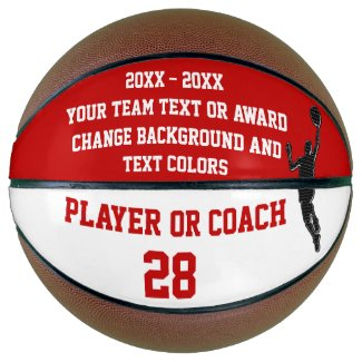 End of Season Basketball Award Ideas PERSONALIZED