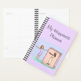 Happiness Journal Book Friend Planner