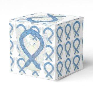 Thyroid Disease Awareness Ribbon Angel Party Boxes