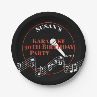 Karaoke Birthday Party Microphone Musical Scale Pa