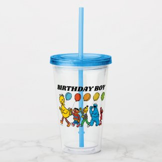 Sesame Street Pals | Party Balloons Acrylic Tumbler