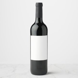Custom Wine (or Champagne) Bottle Label (4