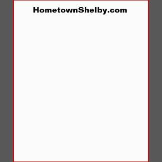 Ellenboro, NC City Limits Sign T-Shirt