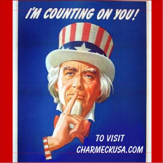 Uncle Sam Says Report Fishy Comment Funny Politics Magnet
