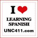 I Love Learning Spanish Magnet