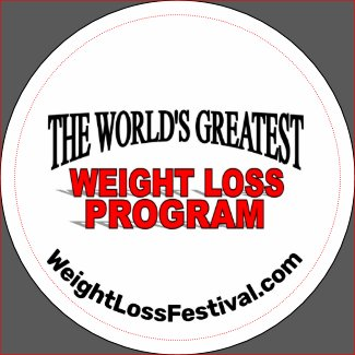The World's Greatest Weight Loss Program Magnet