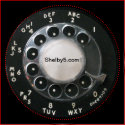 Rotary Phone Dial Magnet