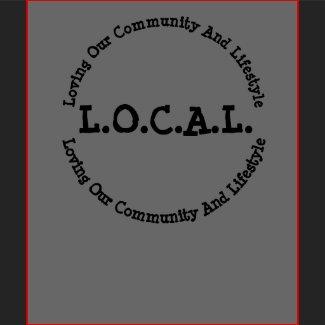 L.O.C.A.L Dark Customizable T-shirt