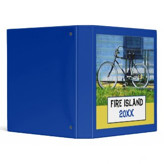 Fire Island Album Binder