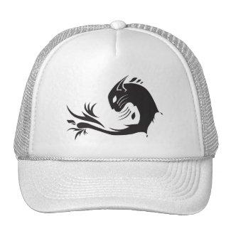 Yin Yang Cat Cap