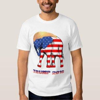 Trump Good Hair Elephant 2016 Men's Basic T-Shirt