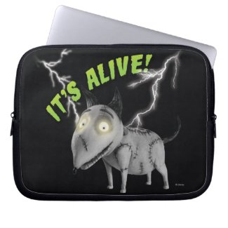 Sparky: It's Alive Laptop Computer Sleeve