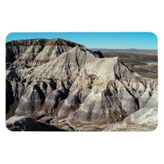 Blue Mesa Badlands Mountains Rectangular Photo Magnet