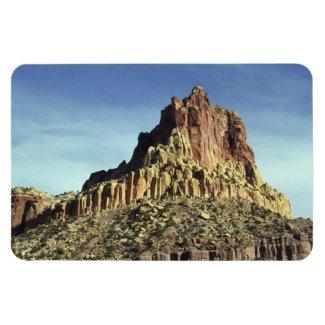Rock Mountain Summit Rectangular Photo Magnet
