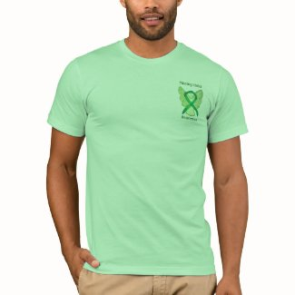 Missing Children Awareness Ribbon Angel Shirts