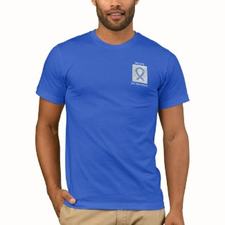 ALS Awareness Ribbon Angel T-Shirts Apparel