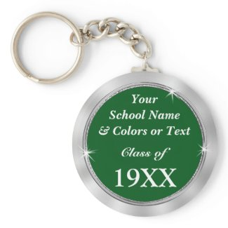 Personalized CHEAP Class Reunion Souvenir Ideas Keychain