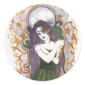 Blue Moon Tattoo Goddess Sticker Sheets