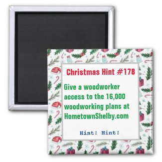 Christmas Hint Chocolate Roses HometownShelby.com  Magnet
