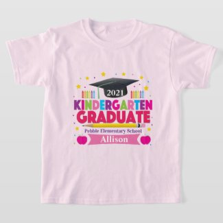 Girl's Last Day of Kindergarten T-shirt