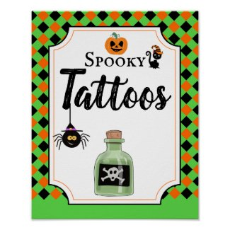 halloween party sign create your own