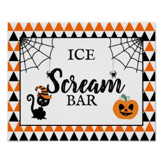 halloween party design your own sign