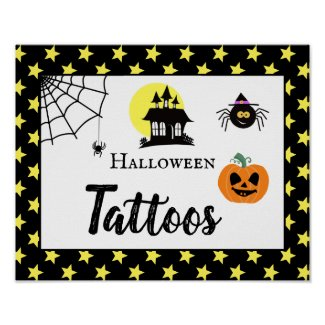 halloween party create your own spooktacular sign