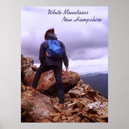 Climbing the Mountain Poster