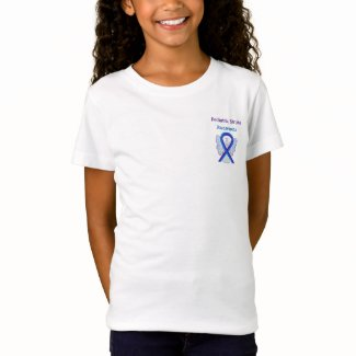 Pediatric Stroke Awareness Ribbon Custom Shirts