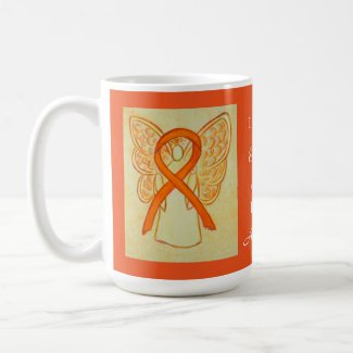 Cultural Diversity Awareness Ribbon Angel Mug