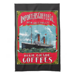 Importers Coffee Hand Towels