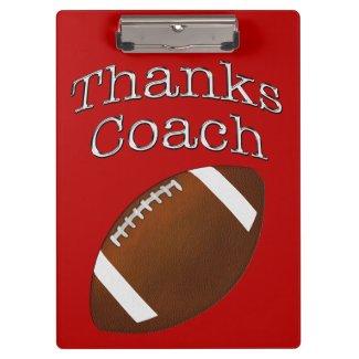 Football Coach Gift Ideas, Football Clipboards