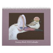 Fantasy Birds 2018 Calendar