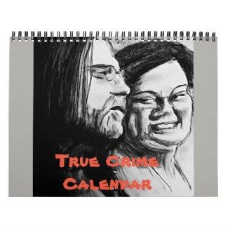 True Crime Calendar