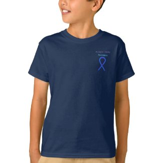 Pediatric Stroke Awareness Ribbon Customized Shirt
