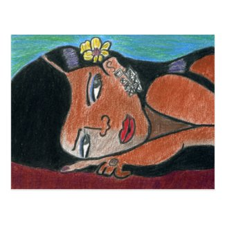Greeting Cards, Interracial, Multicultural Postcard