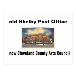 Old Shelby Hospital Postcard
