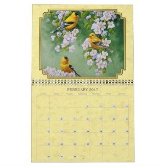 Beautiful Bird Paintings Calendar