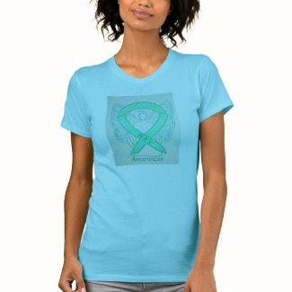 Hepatitis B (HBV) Awareness Ribbon Angel Shirt