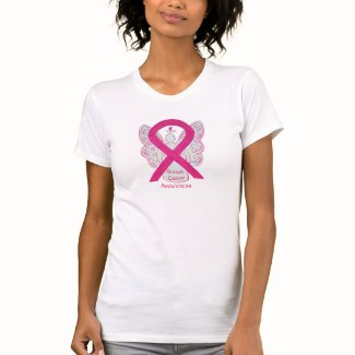 Inflammatory Breast Cancer Awareness Ribbon Shirt