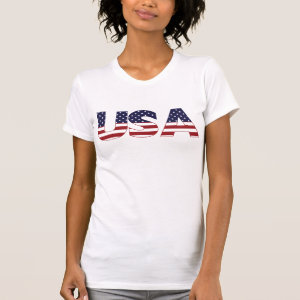 USA Patriotic FLAG GRAPHIC Tees