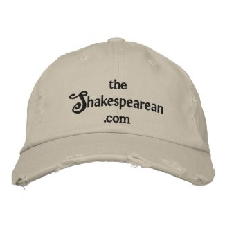 The Shakespearean Embroidered Hat