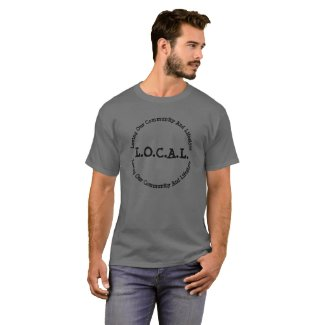 L.O.C.A.L Dark Customizable T-shirt