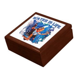 Water is Life - Fancy Shawl Dancer Gift Box