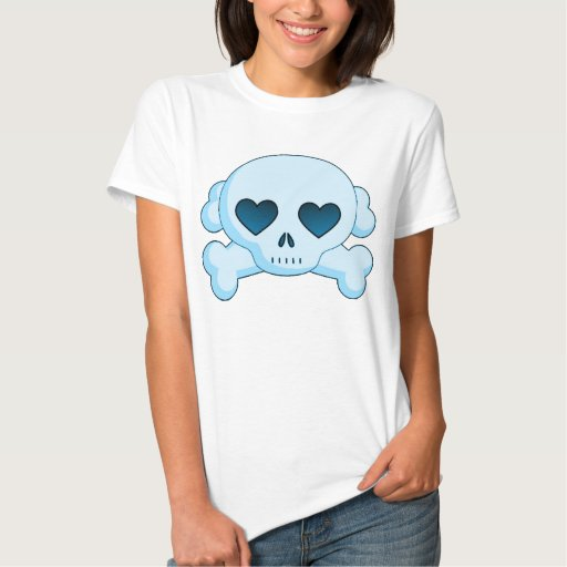 Heart Skull & Crossbones T-Shirt